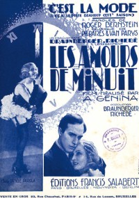 Miłość Żorżety (1931) plakat