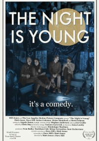 The Night Is Young (2017) plakat