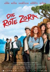 Czerwonowłosa Zora (2008) plakat