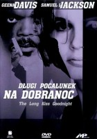 plakat - Długi pocałunek na dobranoc (1996)