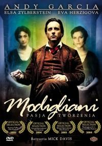 Modigliani, pasja tworzenia (2004) plakat
