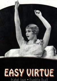 Łatwa cnota (1928) plakat