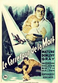 Pocałunek śmierci (1947) plakat