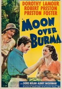 Moon Over Burma (1940) plakat