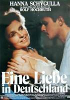 plakat - Miłość w Niemczech (1983)