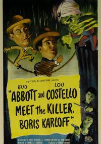 Abbott i Costello spotykają mordercę (1949) plakat