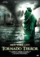 plakat - Tornado w Nowym Jorku (2008)