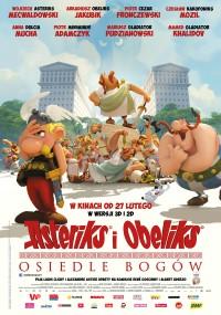 Asteriks i Obeliks: Osiedle Bogów (2014) plakat
