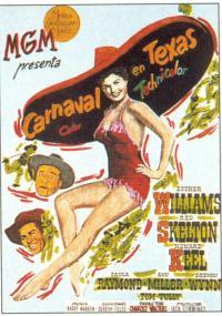 Karnawał w Teksasie (1951) plakat