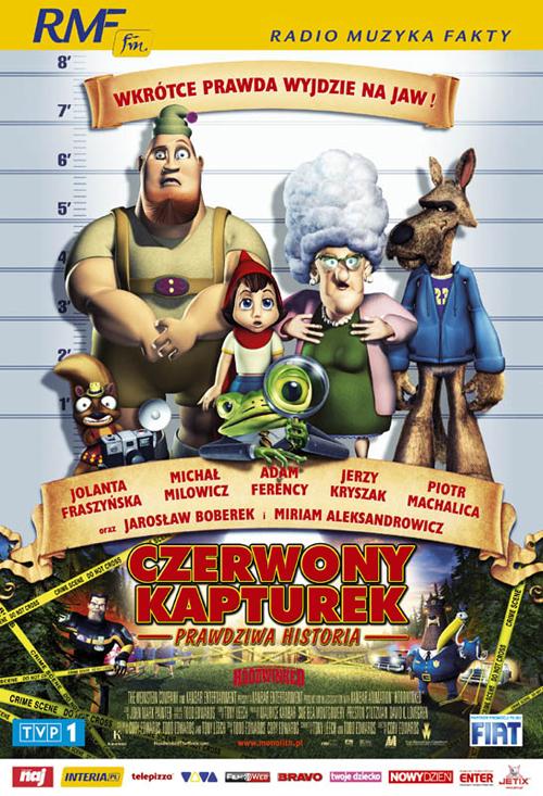 Czerwony Kapturek - Prawdziwa historia online na Zalukaj
