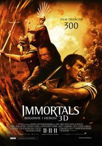 Immortals. Bogowie i herosi 3D (2011) plakat