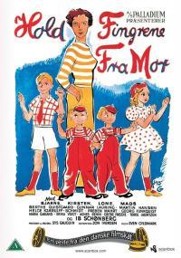 Hold fingrene fra mor (1951) plakat