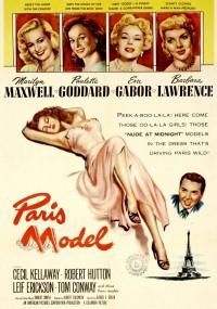 Paris Model (1953) plakat