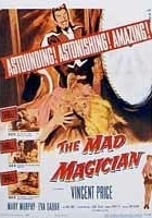 The Mad Magician (1954) plakat