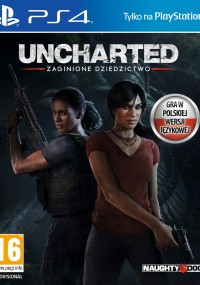Uncharted: Zaginione dziedzictwo (2017) plakat