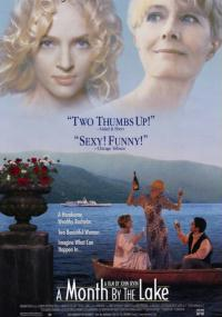 Miesiąc nad jeziorem (1995) plakat