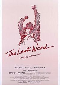 The Last Word (1979) plakat
