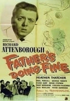 Father's Doing Fine (1952) plakat