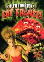 plakat - Krwiożercze pomidory atakują Francję (1991)