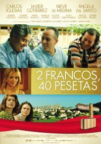 2 francos, 40 pesetas (2014) plakat