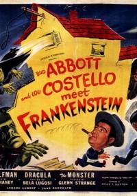Abbott i Costello spotykają Frankensteina (1948) plakat