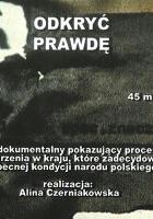 plakat - Odkryć prawdę (2007)