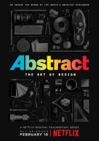plakat - Abstrakt: Sztuka designu (2017)