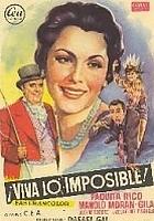 ¡Viva lo imposible! (1958) plakat