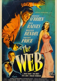 The Web (1947) plakat
