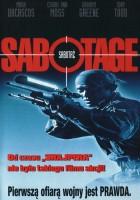plakat - Sabotaż (1996)