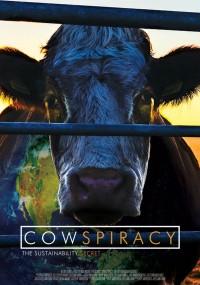 Cowspiracy: tajemnica równowagi ekologicznej środowiska (2014) plakat