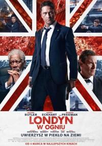 Londyn w ogniu (2016) plakat