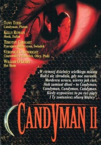 Candyman 2: Pożegnanie z ciałem (1995) plakat