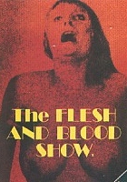 plakat - The Flesh and Blood Show (1972)