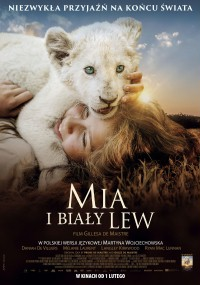 Mia i biały lew (2018) plakat