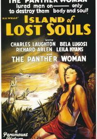 Wyspa doktora Moreau (1932) plakat