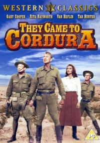 W drodze do Cordury (1959) plakat