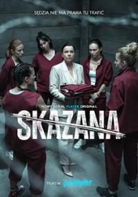 Skazana (2021) plakat