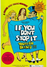 If You Don't Stop It... You'll Go Blind!!! (1975) plakat