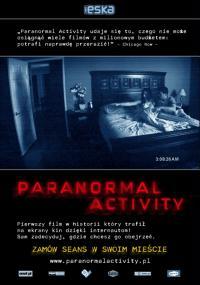 Paranormal Activity (2007) plakat