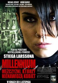 Millennium: Mężczyźni, którzy nienawidzą kobiet (2009) plakat