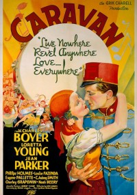 Caravan (1934) plakat