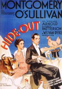 Hide-Out (1934) plakat