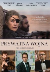 Prywatna wojna (2018) plakat