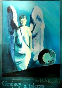 Grający z talerza (1995) plakat