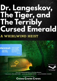 Dr. Langeskov, The Tiger And The Terribly Cursed Emerald: A Whirlwind Heist (2015) plakat