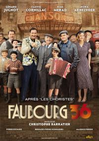 Paryż 36 (2008) plakat