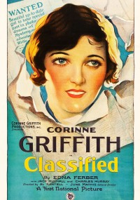 Classified (1925) plakat