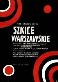 Szkice warszawskie (1969) plakat