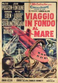 Wyprawa na dno morza (1961) plakat